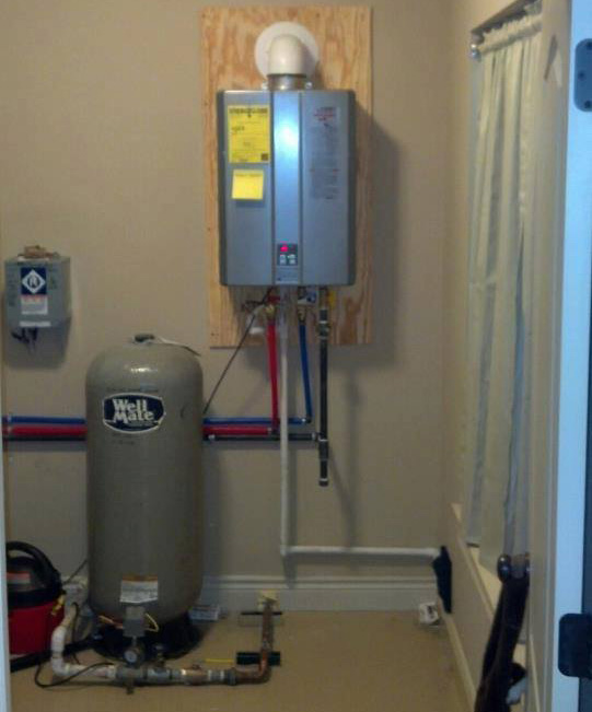 Instantaneous Water Heater >> Tankless Water Heaters